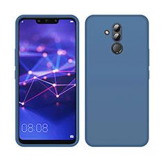 Funda Silicona Ultrafina Goma 360 Grados Carcasa C03 para Huawei Mate 20 Lite Azul