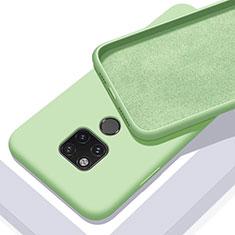 Funda Silicona Ultrafina Goma 360 Grados Carcasa C03 para Huawei Mate 20 X 5G Verde