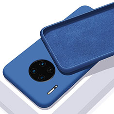 Funda Silicona Ultrafina Goma 360 Grados Carcasa C03 para Huawei Mate 30 Azul
