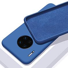 Funda Silicona Ultrafina Goma 360 Grados Carcasa C03 para Huawei Mate 30E Pro 5G Azul