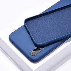 Funda Silicona Ultrafina Goma 360 Grados Carcasa C03 para Huawei P20 Pro Azul