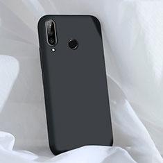 Funda Silicona Ultrafina Goma 360 Grados Carcasa C03 para Huawei P30 Lite Negro