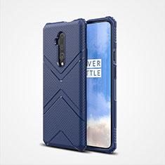 Funda Silicona Ultrafina Goma 360 Grados Carcasa C03 para OnePlus 7T Pro Azul