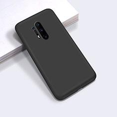 Funda Silicona Ultrafina Goma 360 Grados Carcasa C03 para OnePlus 8 Pro Negro