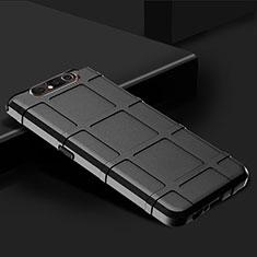 Funda Silicona Ultrafina Goma 360 Grados Carcasa C03 para Samsung Galaxy A80 Negro