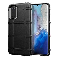 Funda Silicona Ultrafina Goma 360 Grados Carcasa C03 para Samsung Galaxy S20 5G Negro