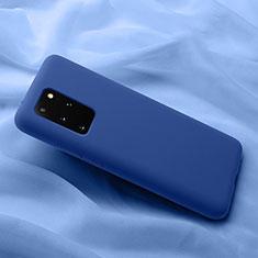 Funda Silicona Ultrafina Goma 360 Grados Carcasa C03 para Samsung Galaxy S20 Plus 5G Azul