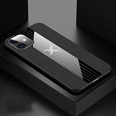 Funda Silicona Ultrafina Goma 360 Grados Carcasa C04 para Apple iPhone 11 Negro