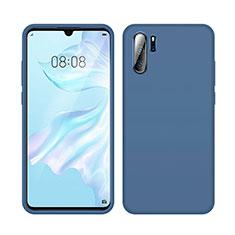 Funda Silicona Ultrafina Goma 360 Grados Carcasa C04 para Huawei P30 Pro Azul