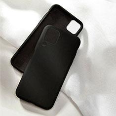 Funda Silicona Ultrafina Goma 360 Grados Carcasa C04 para Huawei P40 Lite Negro