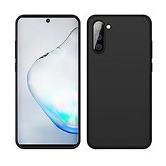 Funda Silicona Ultrafina Goma 360 Grados Carcasa C04 para Samsung Galaxy Note 10 5G Negro