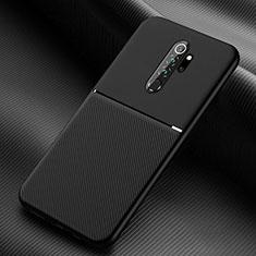 Funda Silicona Ultrafina Goma 360 Grados Carcasa C04 para Xiaomi Redmi Note 8 Pro Negro