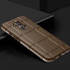 Funda Silicona Ultrafina Goma 360 Grados Carcasa C05 para Huawei Mate 20 Lite Marron