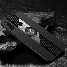Funda Silicona Ultrafina Goma 360 Grados Carcasa C05 para Huawei P30 Lite Negro