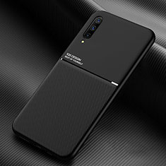Funda Silicona Ultrafina Goma 360 Grados Carcasa C05 para Samsung Galaxy A70 Negro