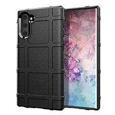 Funda Silicona Ultrafina Goma 360 Grados Carcasa C05 para Samsung Galaxy Note 10 5G Negro