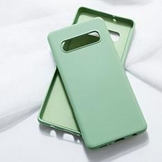 Funda Silicona Ultrafina Goma 360 Grados Carcasa C05 para Samsung Galaxy S10 5G Verde