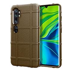 Funda Silicona Ultrafina Goma 360 Grados Carcasa C05 para Xiaomi Mi Note 10 Marron