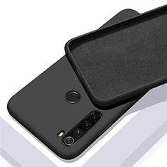 Funda Silicona Ultrafina Goma 360 Grados Carcasa C05 para Xiaomi Redmi Note 8 Negro