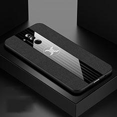 Funda Silicona Ultrafina Goma 360 Grados Carcasa C06 para Huawei Mate 20 Lite Negro