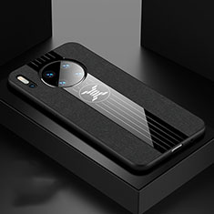 Funda Silicona Ultrafina Goma 360 Grados Carcasa C06 para Huawei Mate 30 Negro