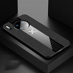 Funda Silicona Ultrafina Goma 360 Grados Carcasa C06 para Huawei Mate 30 Pro Negro