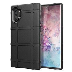 Funda Silicona Ultrafina Goma 360 Grados Carcasa C06 para Samsung Galaxy Note 10 Plus 5G Negro