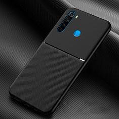 Funda Silicona Ultrafina Goma 360 Grados Carcasa C06 para Xiaomi Redmi Note 8 Negro