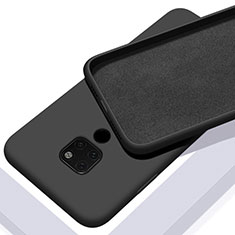 Funda Silicona Ultrafina Goma 360 Grados Carcasa C08 para Huawei Mate 20 Negro