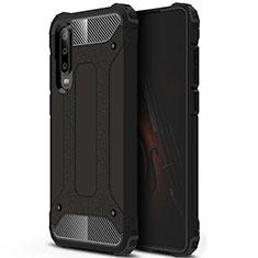 Funda Silicona Ultrafina Goma 360 Grados Carcasa C09 para Huawei P30 Negro
