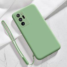 Funda Silicona Ultrafina Goma 360 Grados Carcasa N03 para Samsung Galaxy Note 20 Ultra 5G Menta Verde