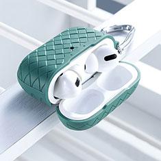 Funda Silicona Ultrafina Goma 360 Grados Carcasa para Apple AirPods Pro Verde