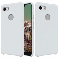 Funda Silicona Ultrafina Goma 360 Grados Carcasa para Google Pixel 3 XL Blanco