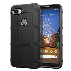 Funda Silicona Ultrafina Goma 360 Grados Carcasa para Google Pixel 3a Negro