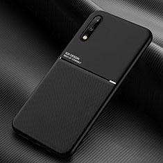 Funda Silicona Ultrafina Goma 360 Grados Carcasa para Huawei Enjoy 10 Negro