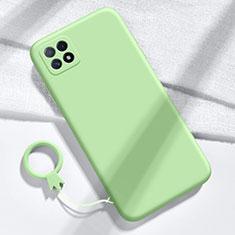 Funda Silicona Ultrafina Goma 360 Grados Carcasa para Huawei Enjoy 20 5G Verde