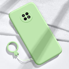 Funda Silicona Ultrafina Goma 360 Grados Carcasa para Huawei Enjoy 20 Plus 5G Verde