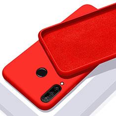 Funda Silicona Ultrafina Goma 360 Grados Carcasa para Huawei Honor 20 Lite Rojo