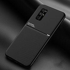 Funda Silicona Ultrafina Goma 360 Grados Carcasa para Huawei Honor 30S Negro