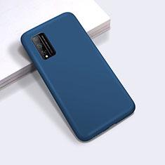 Funda Silicona Ultrafina Goma 360 Grados Carcasa para Huawei Honor Play4T Pro Azul