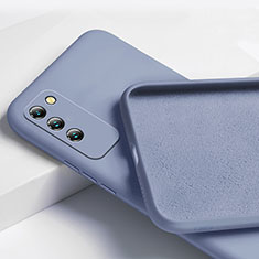 Funda Silicona Ultrafina Goma 360 Grados Carcasa para Huawei Honor X10 5G Gris