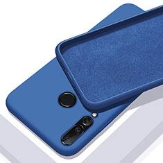 Funda Silicona Ultrafina Goma 360 Grados Carcasa para Huawei Nova 5i Azul