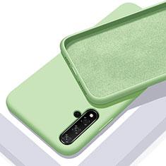 Funda Silicona Ultrafina Goma 360 Grados Carcasa para Huawei Nova 5T Verde