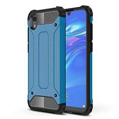 Funda Silicona Ultrafina Goma 360 Grados Carcasa para Huawei Y5 (2019) Azul