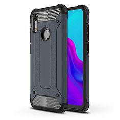Funda Silicona Ultrafina Goma 360 Grados Carcasa para Huawei Y6 (2019) Azul