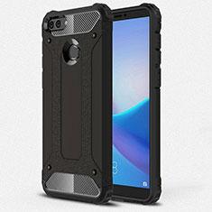Funda Silicona Ultrafina Goma 360 Grados Carcasa para Huawei Y9 (2018) Negro