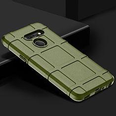 Funda Silicona Ultrafina Goma 360 Grados Carcasa para LG G8 ThinQ Verde