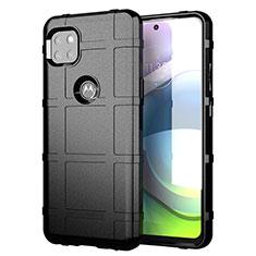 Funda Silicona Ultrafina Goma 360 Grados Carcasa para Motorola Moto G 5G Negro
