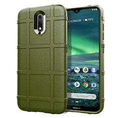 Funda Silicona Ultrafina Goma 360 Grados Carcasa para Nokia 2.3 Verde