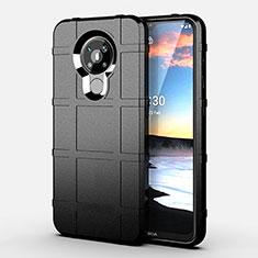 Funda Silicona Ultrafina Goma 360 Grados Carcasa para Nokia 5.3 Negro